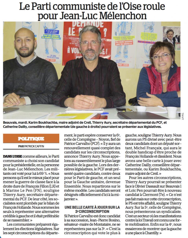 20161209-LeP-Oise-P2017-Le Parti communiste de l'Oise roule pour Jean-Luc Mélenchon