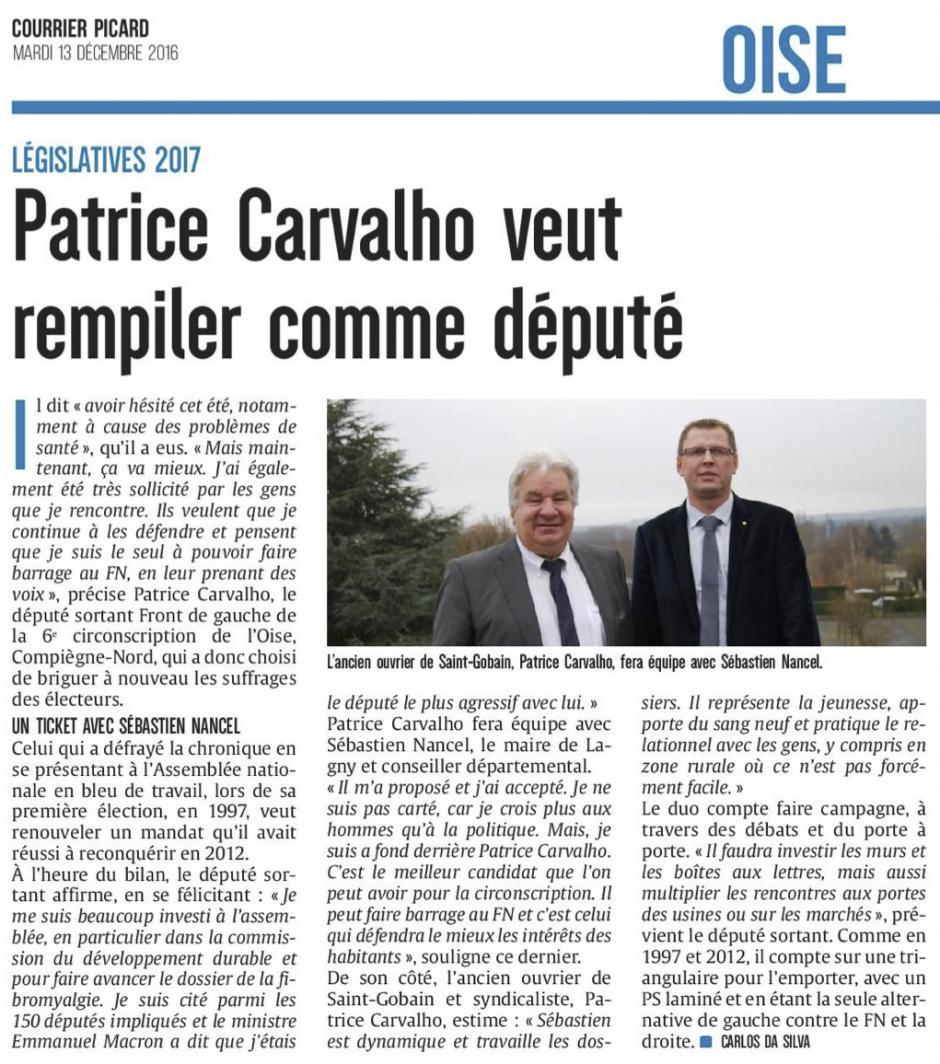 20161213-CP-Oise-L2017-6C-Patrice Carvalho veut rempiler comme député