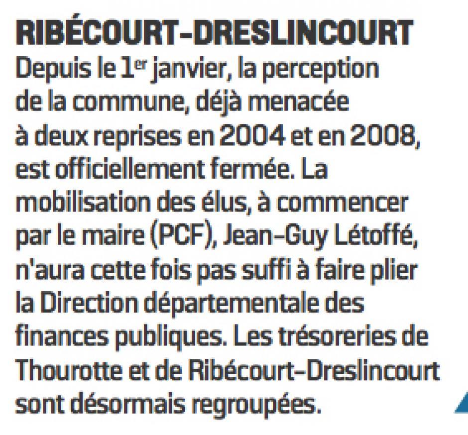 20170106-LeP-Ribécourt-Dreslincourt-Fermeture de la trésorerie