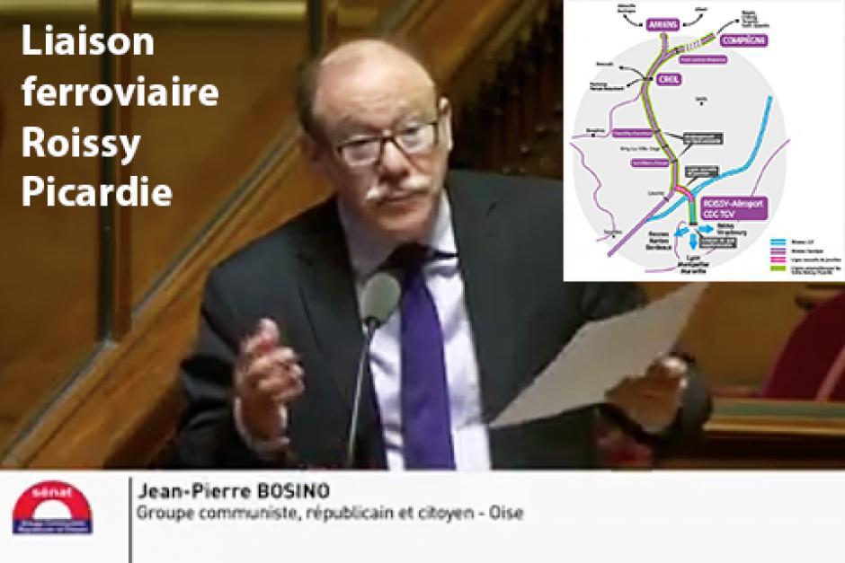 Liaison ferroviaire Roissy-Picardie : questions concrètes, réponses plus qu'évasives ! - Sénat, 24 janvier 2017