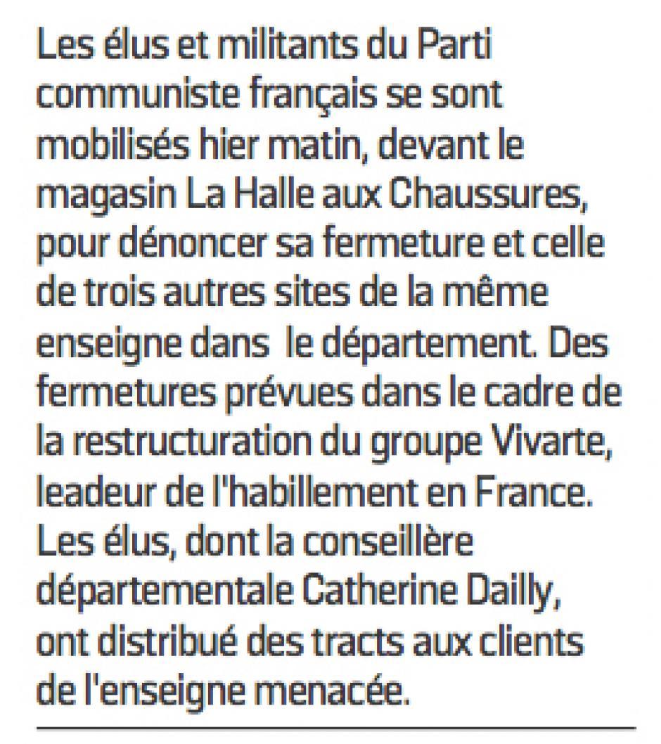 20170129-LeP-Nogent-sur-Oise-Distribution de tracts du PCF contre la fermeture de La Halle aux chaussures