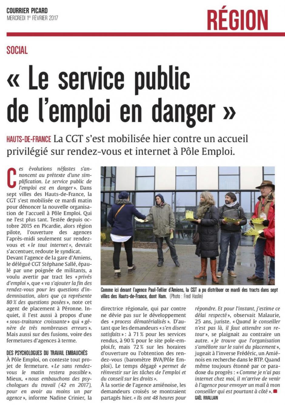 20170201-CP-Hauts-de-France-«Le service public de l'emploi en danger »