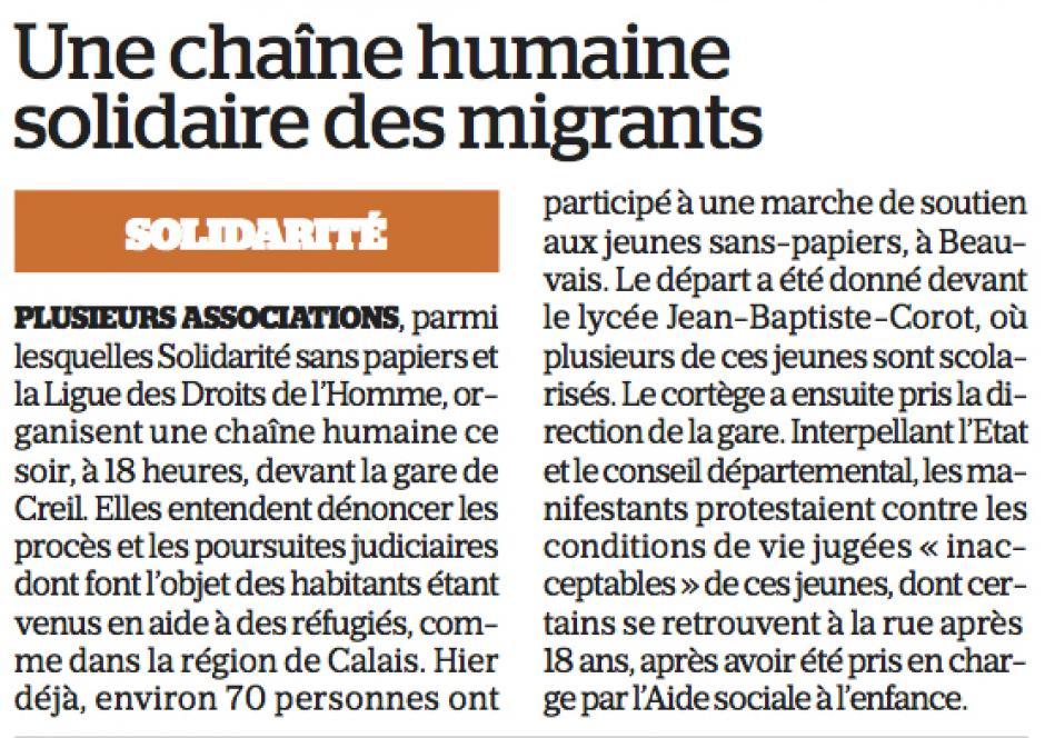 20170209-LeP-Oise-Une chaîne humaine solidaire des migrants