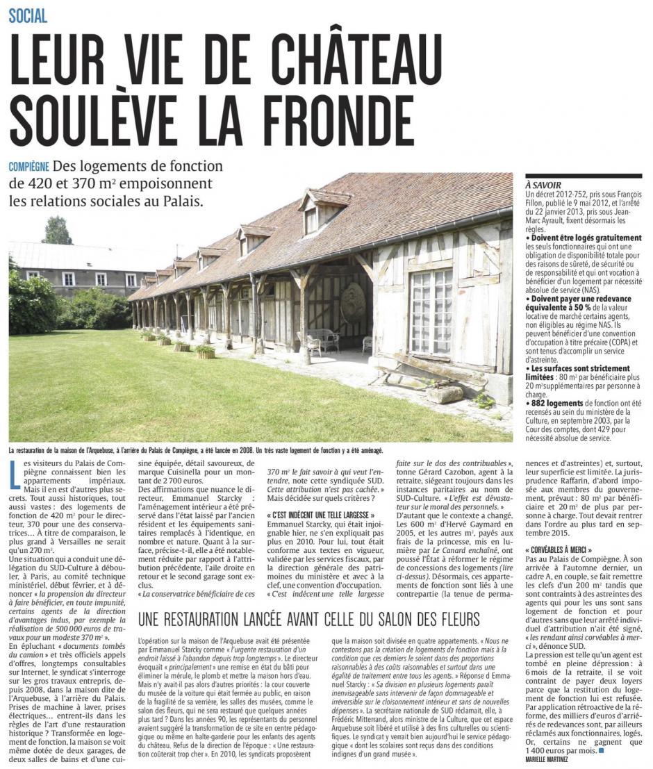 20170224 Cp Compi Gne Leur Vie De Ch Teau Soul Ve La Fronde Pcf Fr