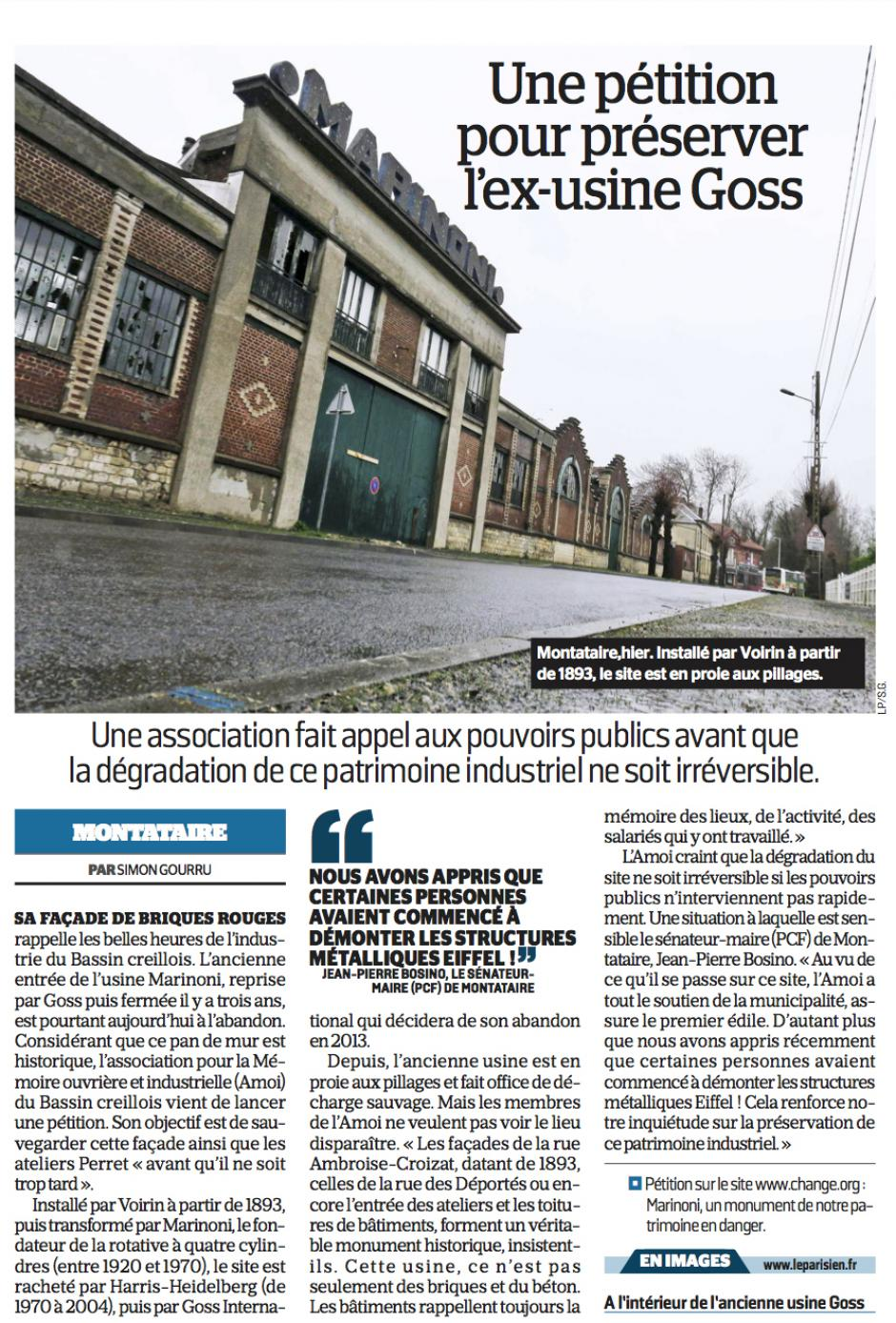 20170302-LeP-Montataire-Une pétition pour préserver l'ex-usine Goss