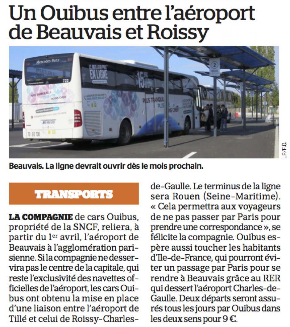 20170303-LeP-Beauvais-Tillé-Un Ouibus entre l'aéroport et Roissy