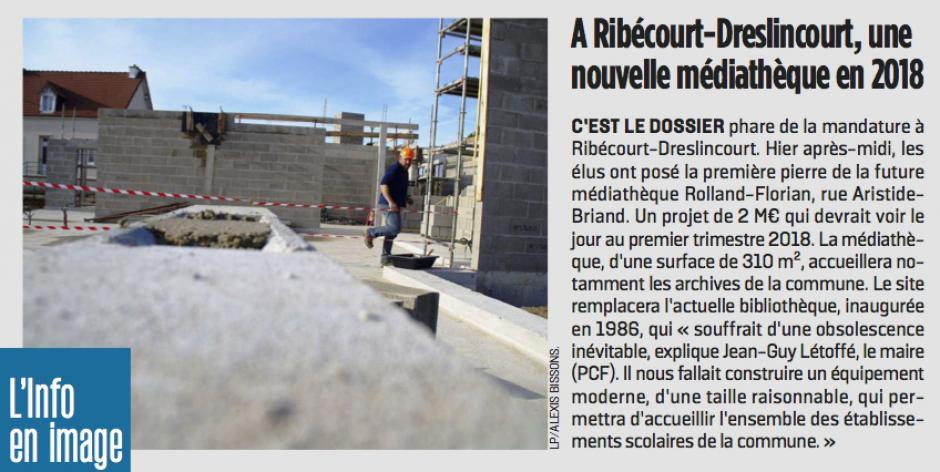 20170303-LeP-Ribécourt-Dreslincourt-Une nouvelle médiathèque en 2018