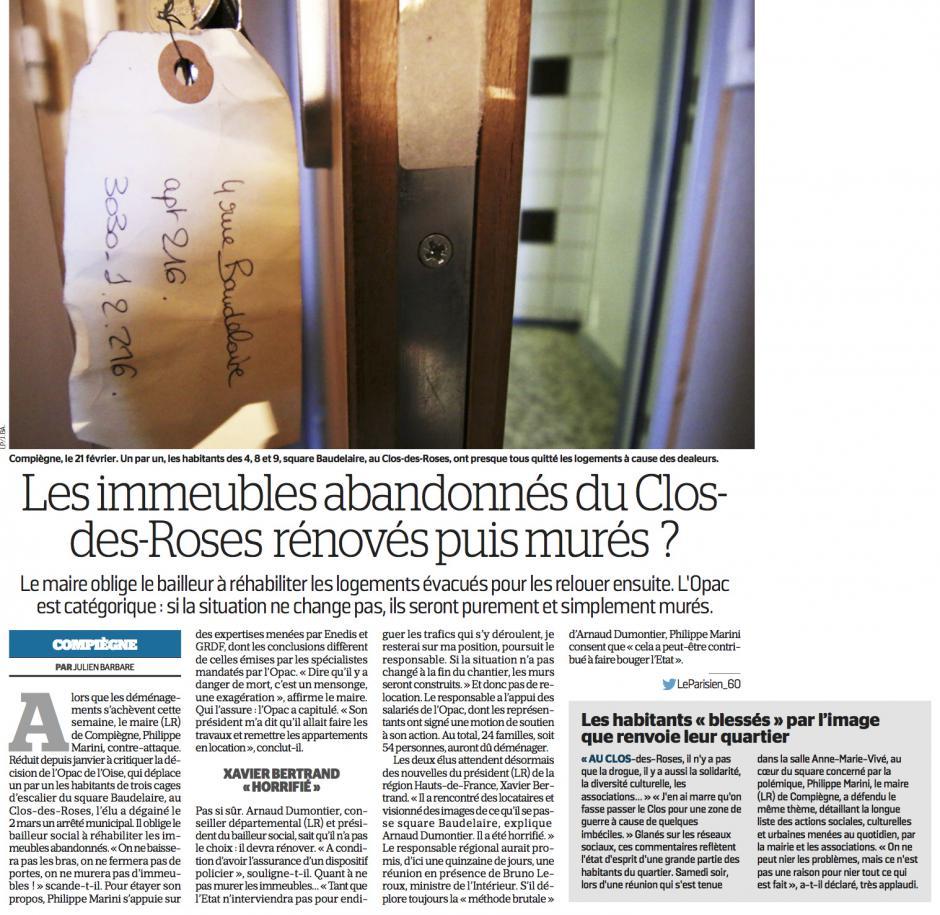 20170307-LeP-Compiègne-Les immeubles abandonnés du Clos-des-Roses rénovés puis murés ?