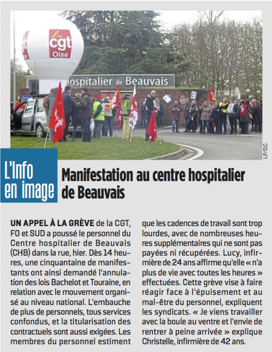 20170308-LeP-Beauvais-Manifestation au centre hospitalier