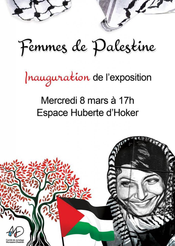 Du 8 au 31 mars, Montataire - Comité de jumelage Montataire-Dheisheh-Exposition « Femmes de Palestine »