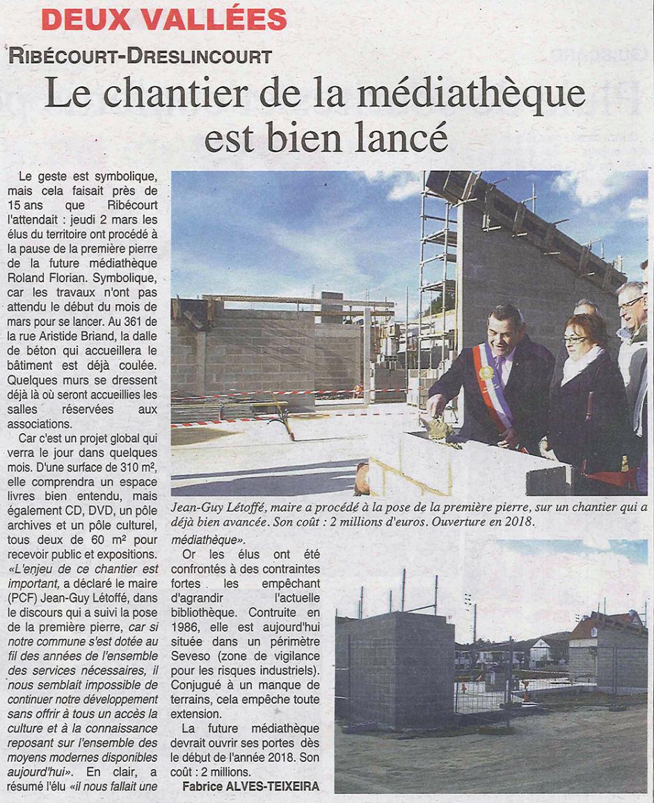 20170308-OH-Ribécourt-Dreslincourt-Le chantier de la médiathèque est bien lancé