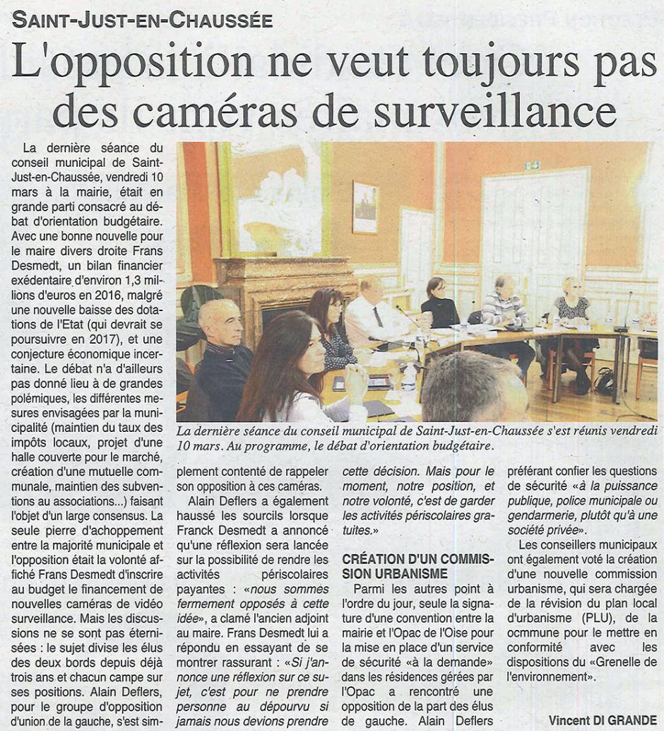 20170315-OH-Saint-Just-en-Chaussée-L'opposition ne veut toujours pas des caméras de surveillance