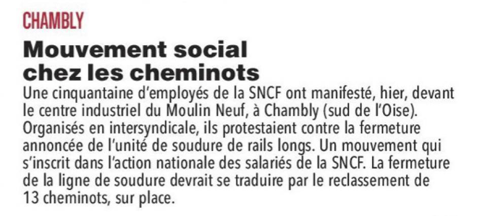 20170322-CP-Chambly-Mouvement social chez les cheminots [pages régionales]