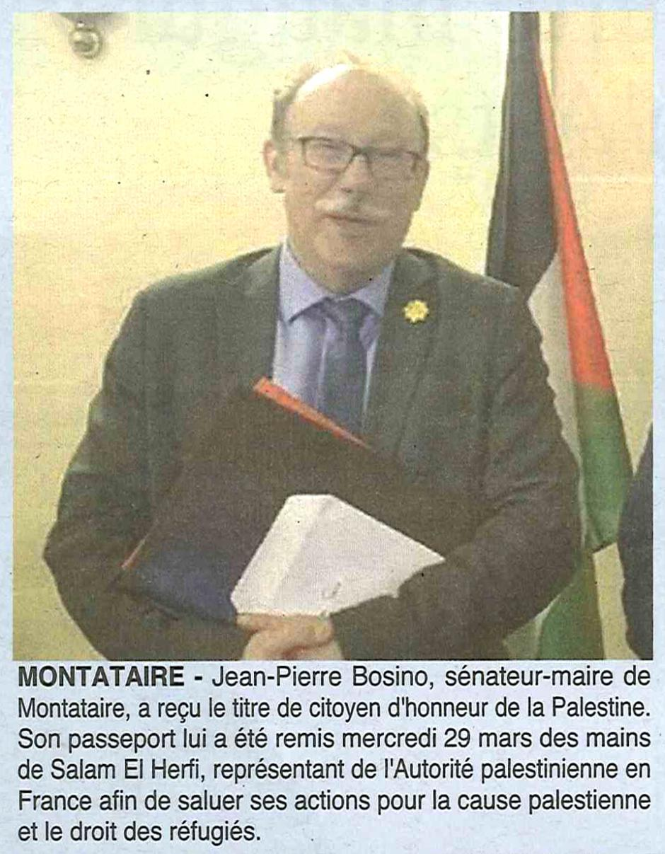 20170405-OH-Montataire-Jean-Pierre Bosino a reçu le titre de citoyen d'honneur de Palestine