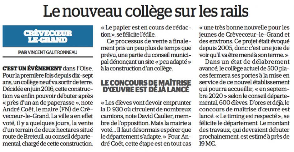 20170411-LeP-Crèvecœur-le-Grand-Le nouveau collège sur les rails
