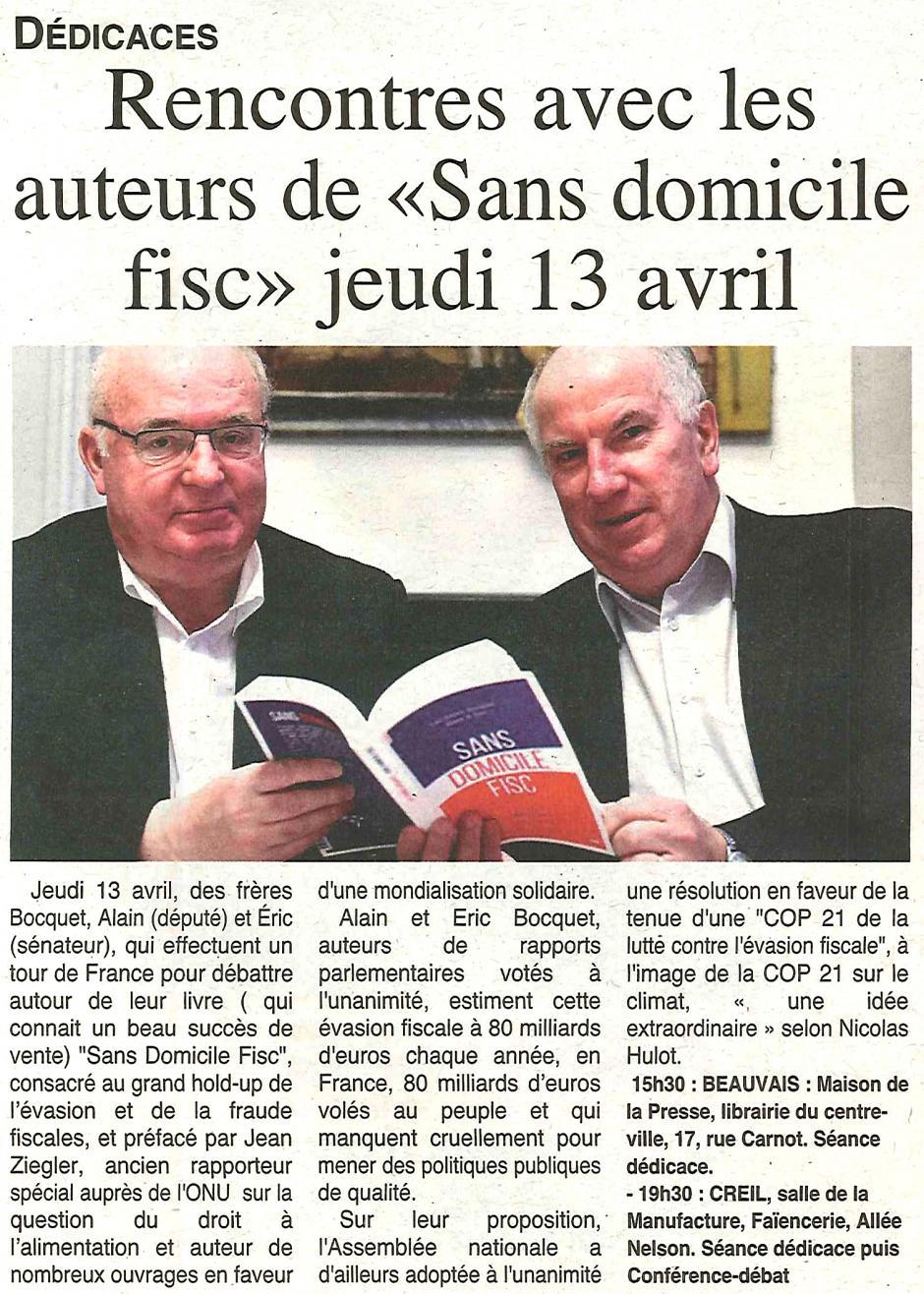 20170412-OH-Oise-Rencontres avec les auteurs de « Sans Domicile Fisc » jeudi 13 avril