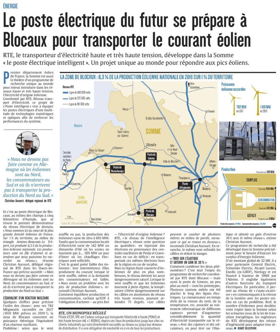 20170420-CP-Somme-Le poste électrique du futur se prépare à Blocaux pour transporter le courant éolien [édition Amiens]