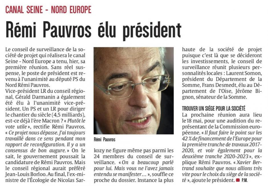 20170421-CP-Hauts-de-France-Canal Seine-Nord Europe-Pauvros élu président