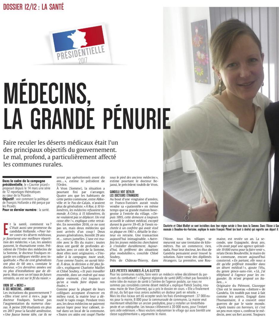 20170421-CP-Picardie-P2017-12-Santé : médecins, la grande pénurie