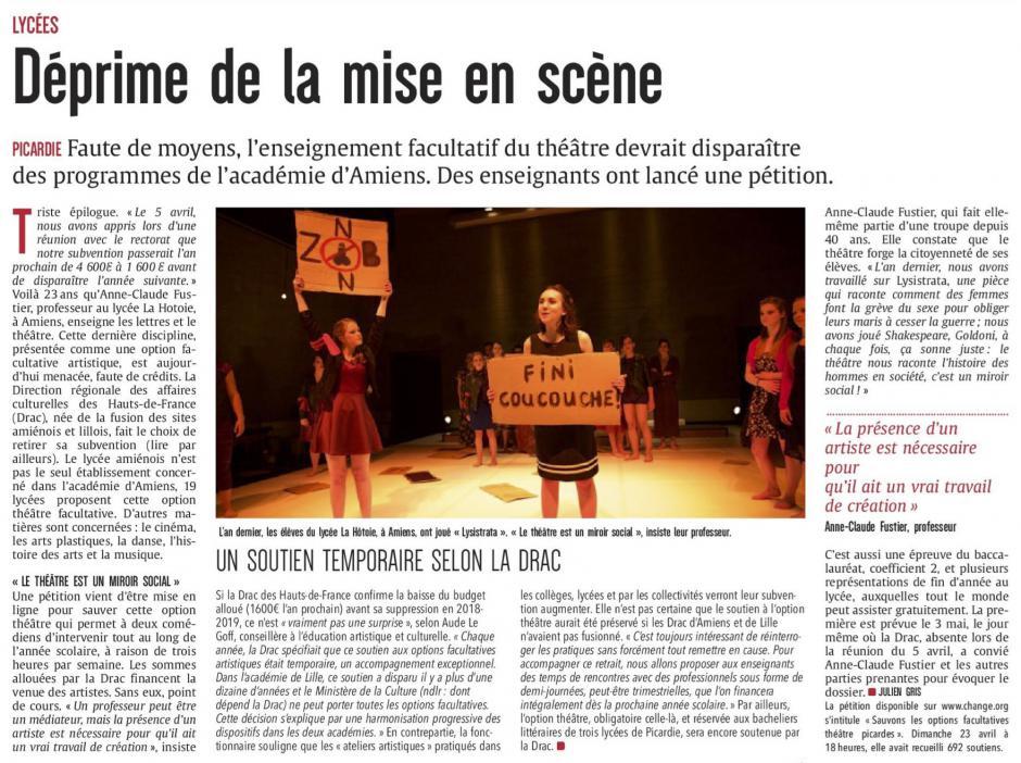 20170424-CP-Picardie-Lycées : déprime de la mise en scène