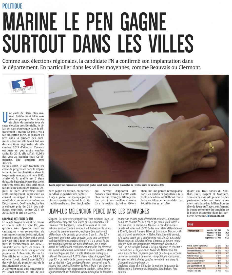 20170425-CP-Oise-P2017-Le Pen gagne surtout dans les villes