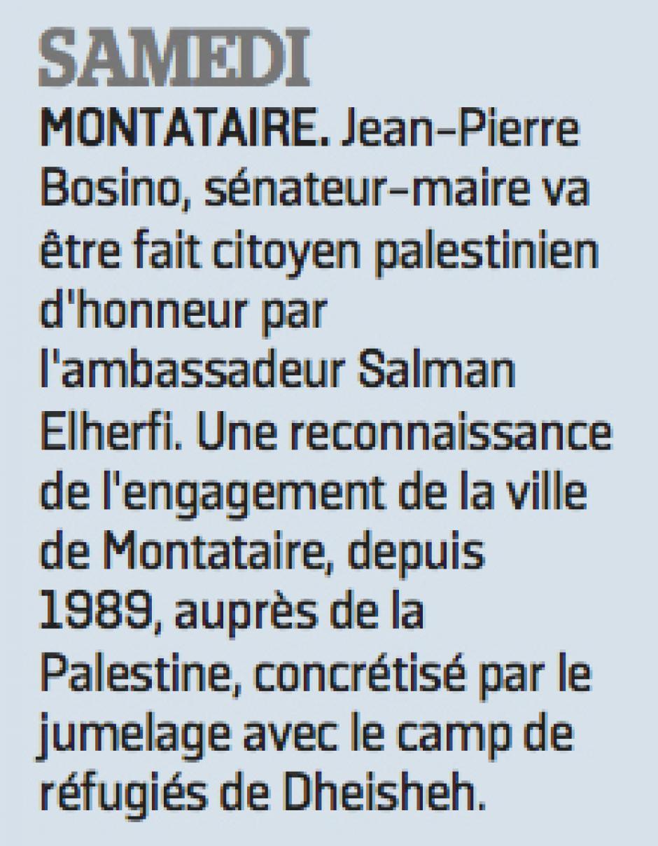 20170425-LeP-Montataire-Jean-Pierre Bosino citoyen palestinien d'honneur