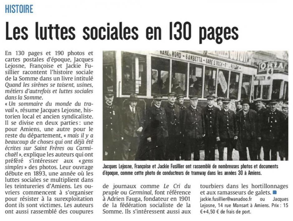 20170502-CP-Somme-Les luttes sociales en 130 pages [édition Amiens]