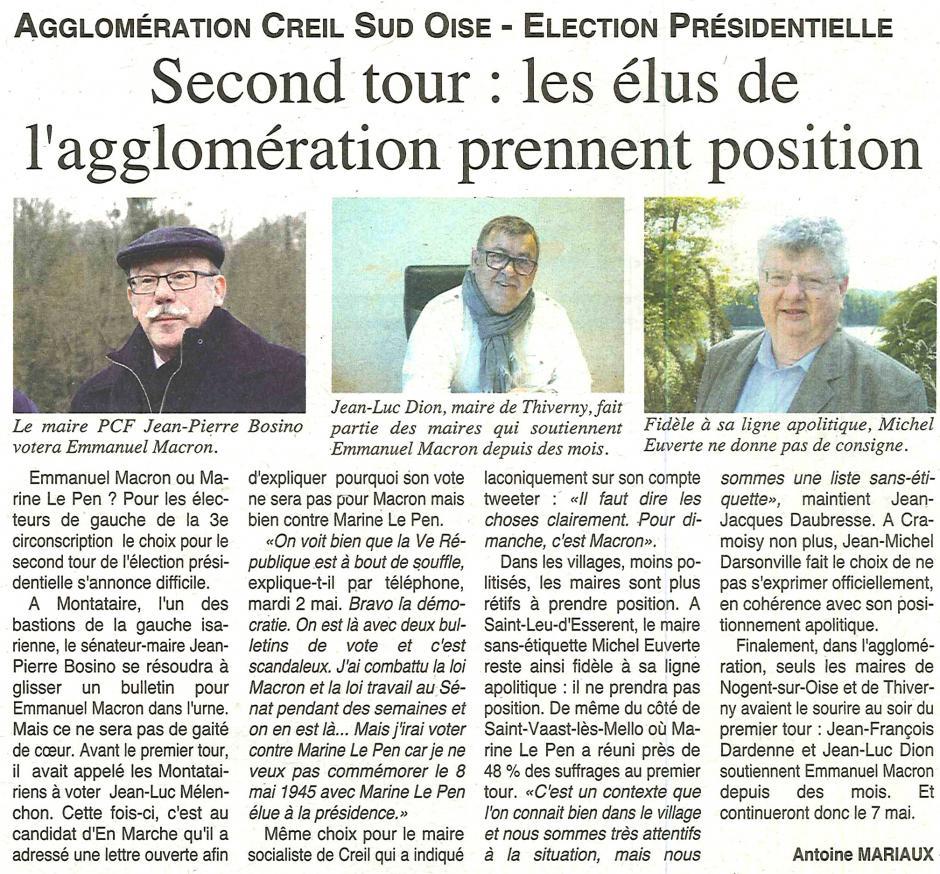 20170503-OH-Creillois-P2017-Second tour : les élus de l'agglomération prennent position