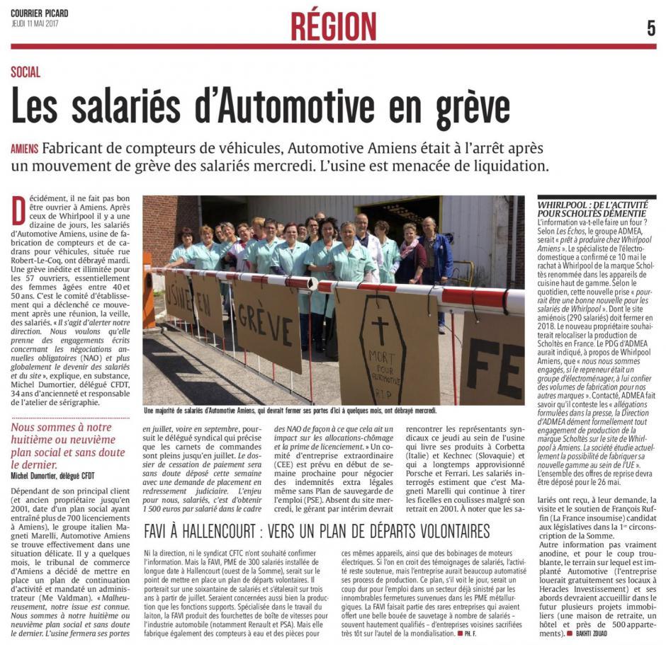 20170511-CP-Amiens-Les salariés d'Automotive en grève
