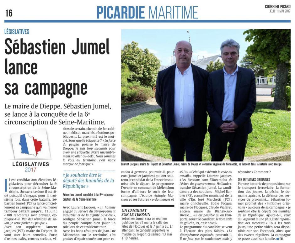 20170511-CP-Seine-Maritime-L2017-6C-Sébastien Jumel lance sa campagne [édition Picardie maritime]