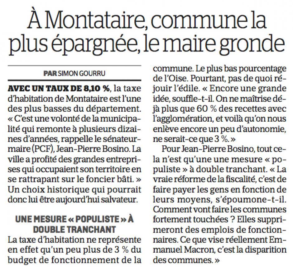 20170513-CP-Oise-Exonération de la taxe d'habitation : à Montataire, commune la plus épargnée, le maire gronde