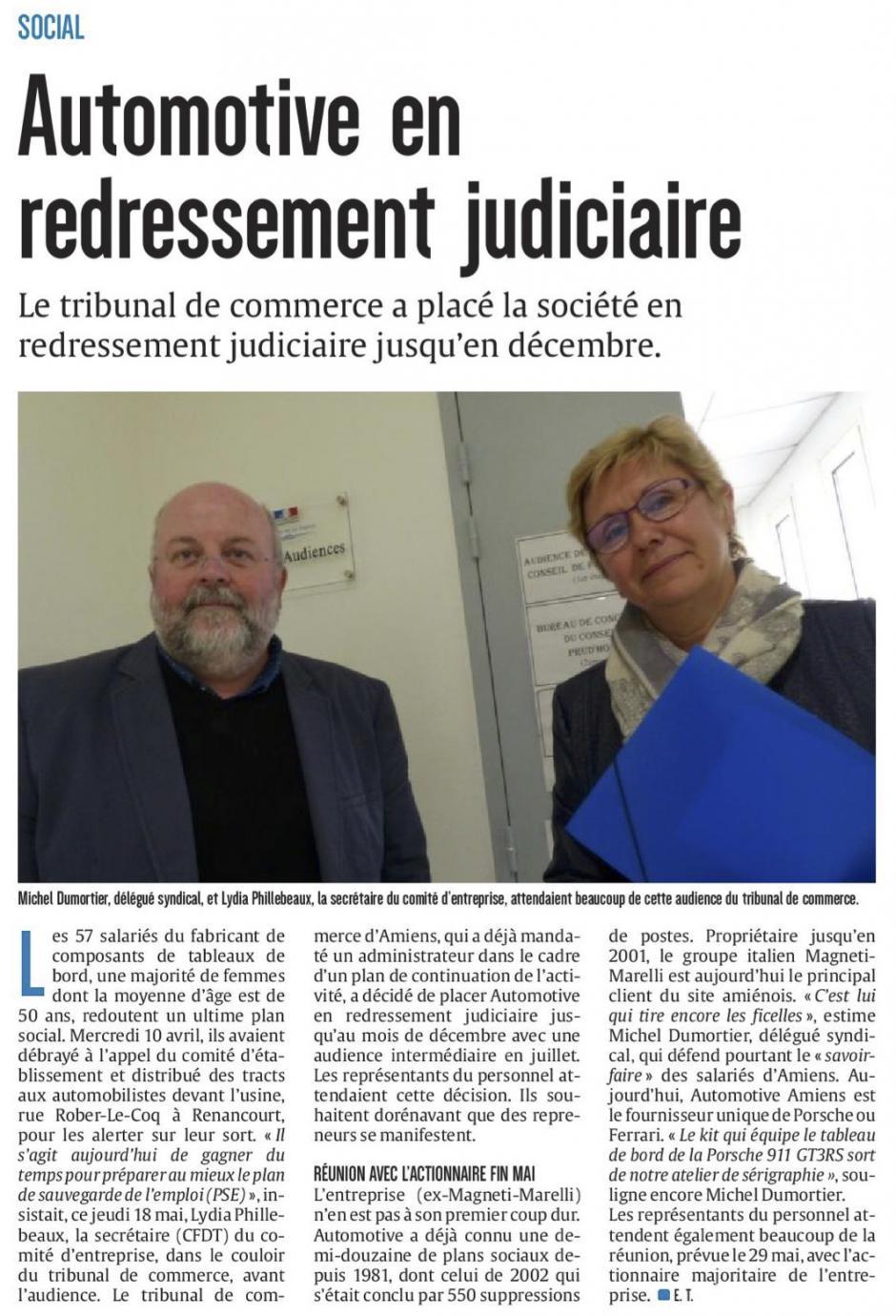 20170519-CP-Amiens-Automotive en redressement judiciaire [édition Amiens]