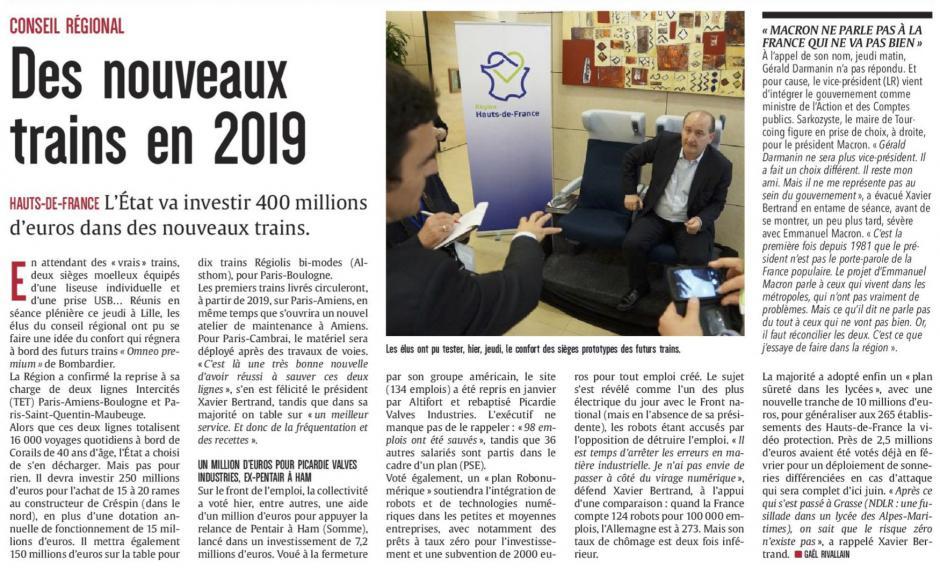 20170519-CP-Hauts-de-France-Des nouveaux trains en 2019