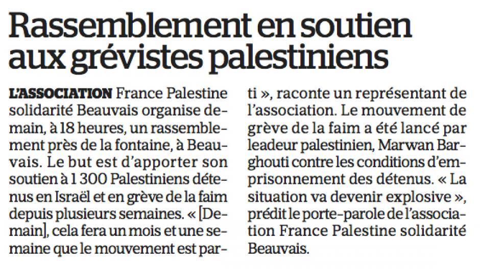20170523-LeP-Beauvais-Rassemblement en soutien aux grévistes palestiniens