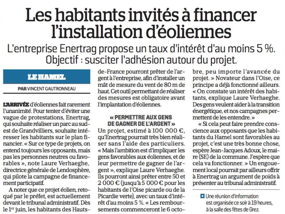 20170523-LeP-Le Hamel-Les habitants invités à financer l'installation d'éoliennes