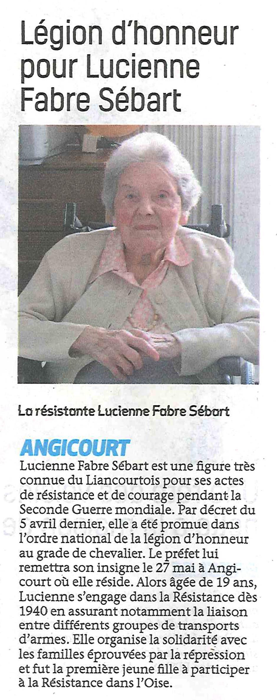 20170524-BonP-Angicourt-Légion d'honneur pour Lucienne Fabre Sébart