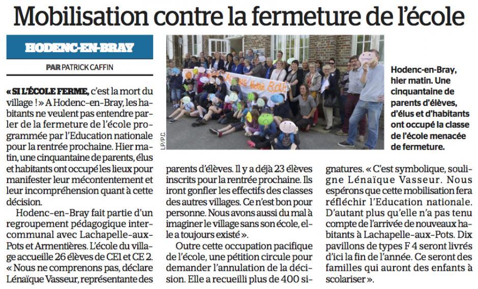 20170525-LeP-Hodenc-en-Bray-Mobilisation contre la fermeture de l'école