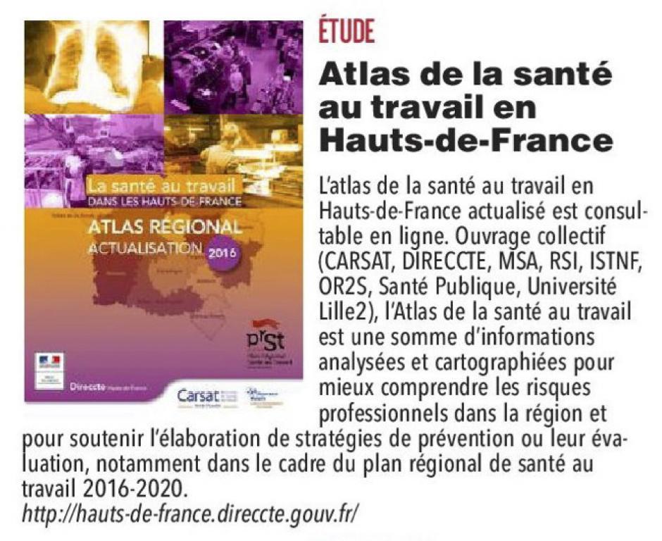 20170529-CP-Hauts-de-France-Atlas de la santé au travail dans la région
