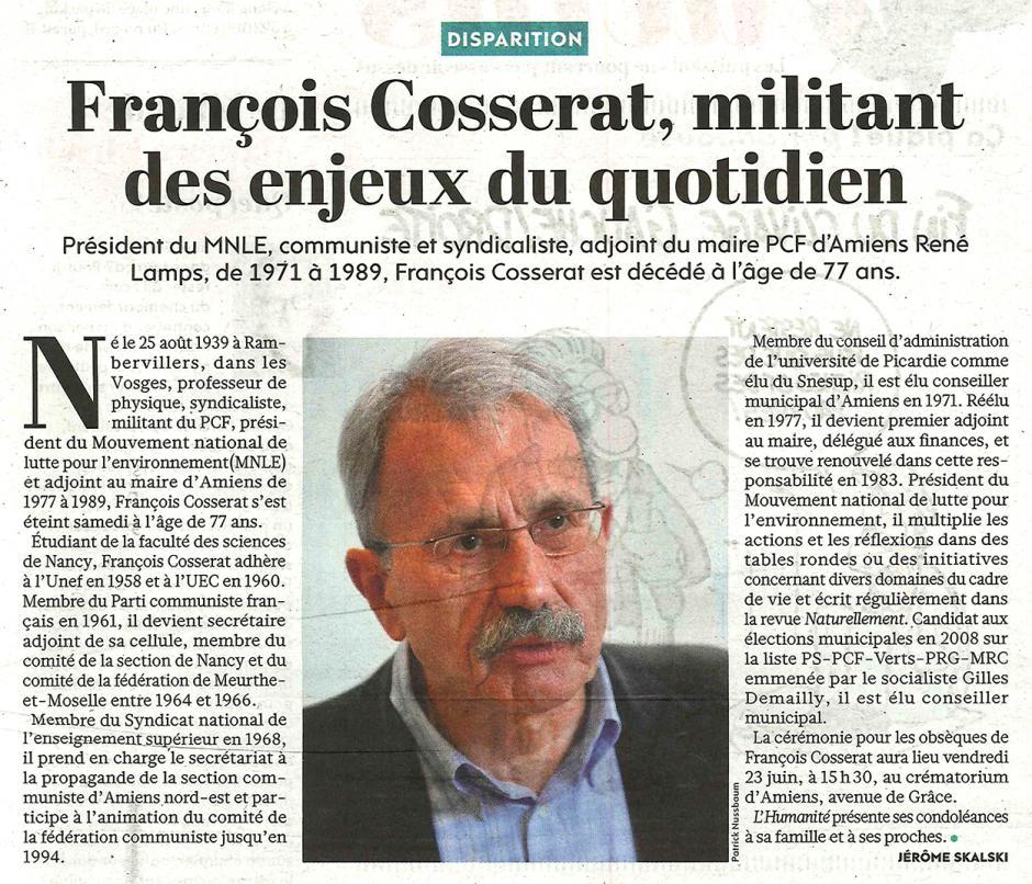 20170620-L'Huma-Amiens-François Cosserat, militant des enjeux du quotidien