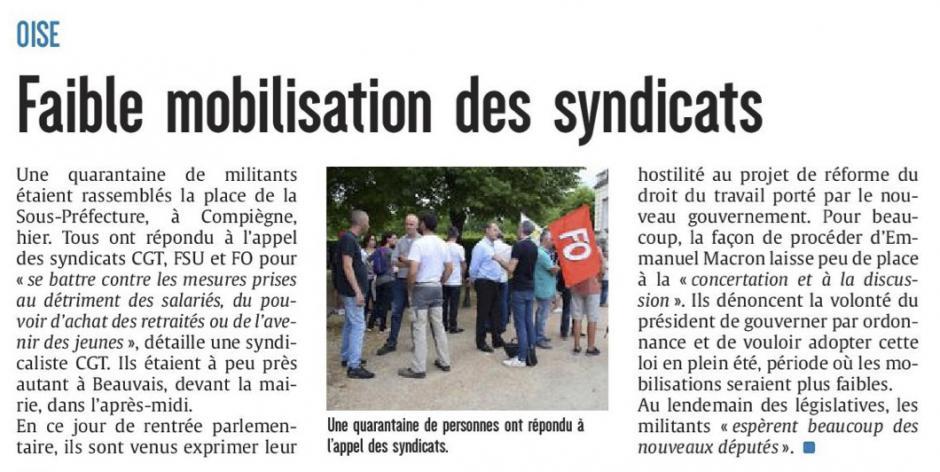 20170628-CP-Oise-Faible mobilisation des syndicats