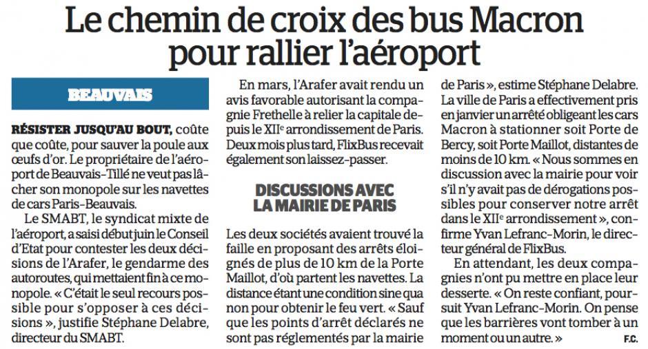 20170628-LeP-Beauvais-Tillé-Le chemin de croix des bus Macron pour rallier l'aéroport