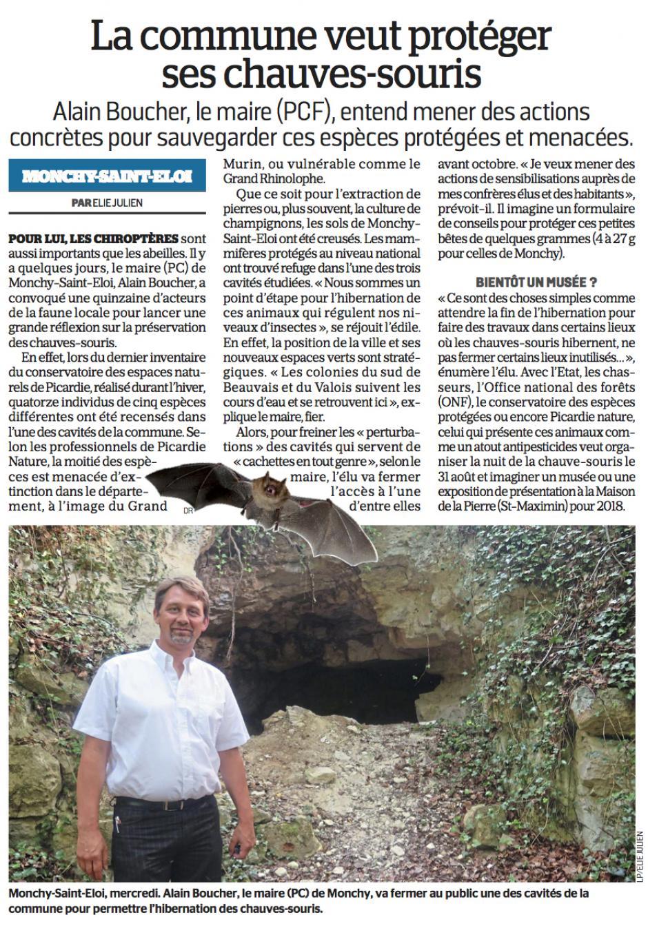 20170630-LeP-Monchy-Saint-Éloi-La commune veut protéger ses chauves-souris