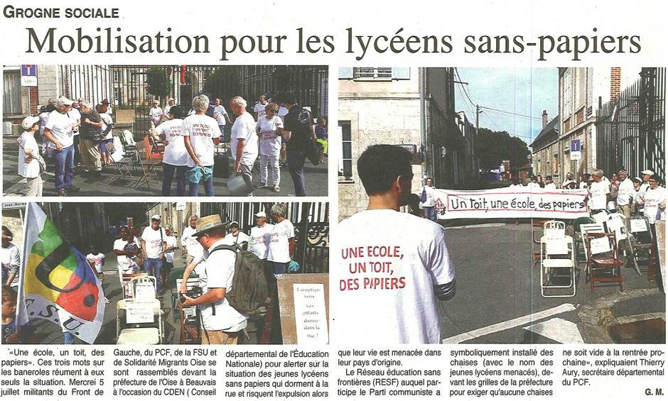 20170712-OH-Beauvais-Mobilisation pour les lycéens sans-papiers