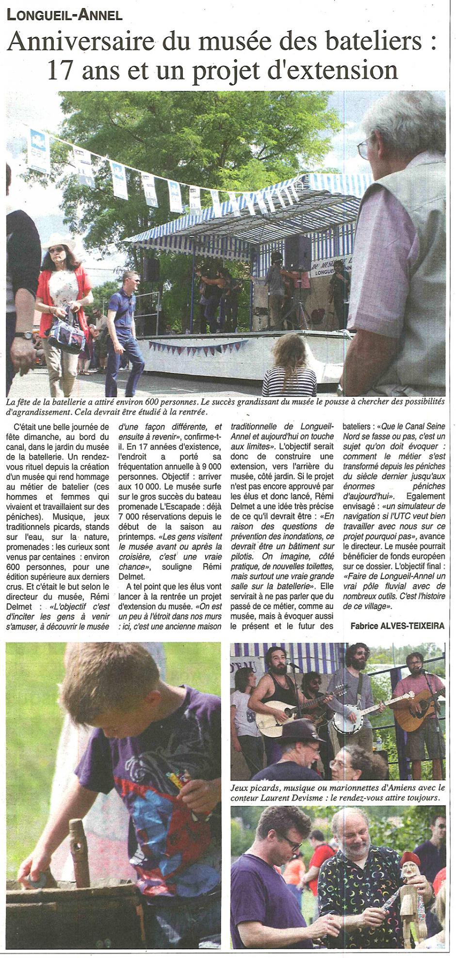 20170719-OH-Longueil-Annel-Anniversaire du musée des bateliers : 17 ans et un projet d'extension