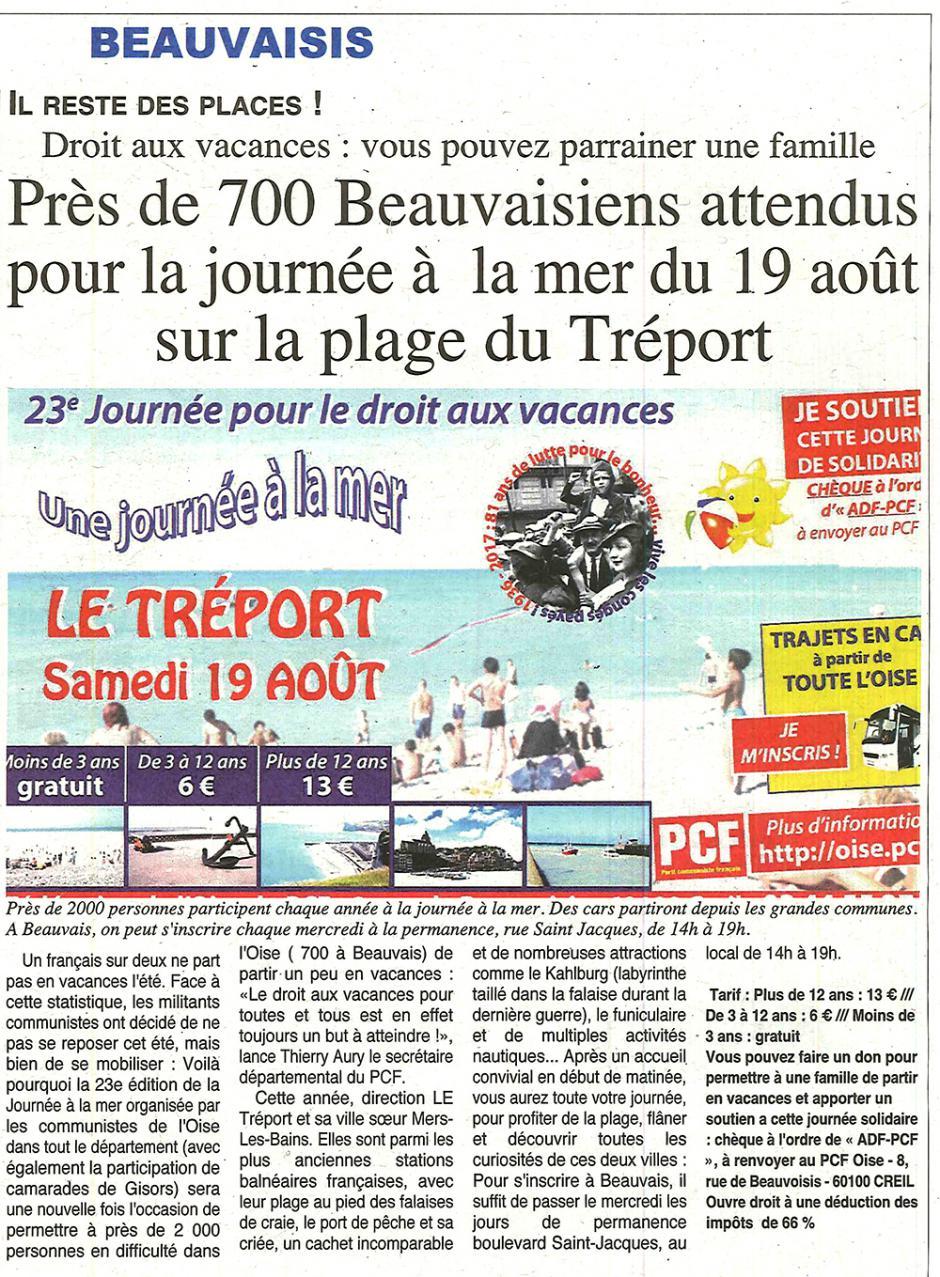 20170802-OH-Oise-Près de 700 Beauvaisiens attendus pour la journée à la mer du 19 août sur la plage du Tréport