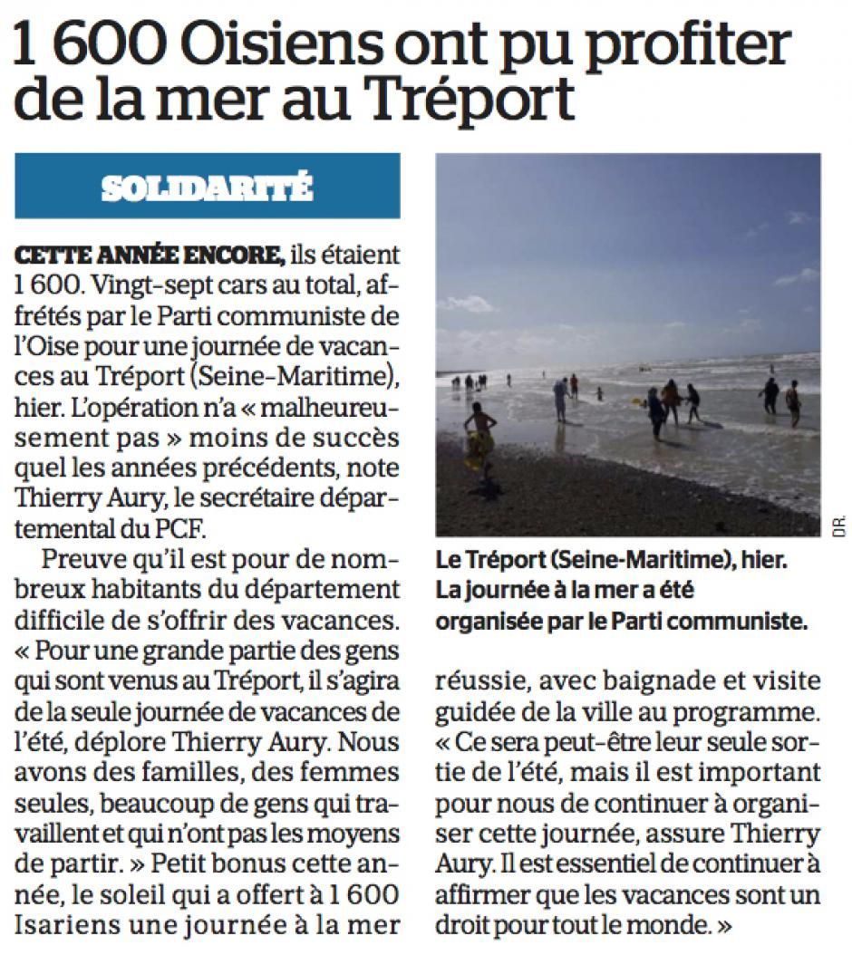 20170820-LeP-Le Tréport-1 600 Oisiens ont pu profiter de la mer au Tréport