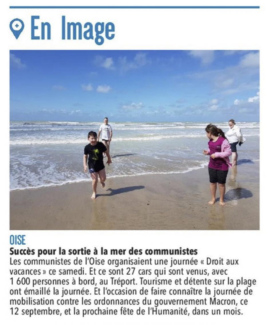 20170821-CP-Le Tréport-Succès pour la sortie à la mer des communistes