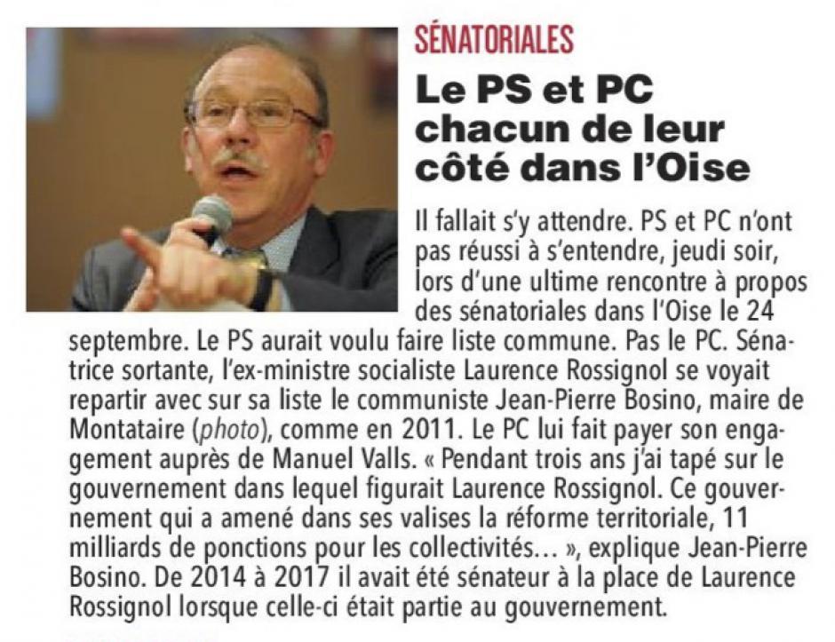 20170826-CP-Oise-S2017-Le PS et PC chacun de leur côté dans l'Oise [pages régionales]