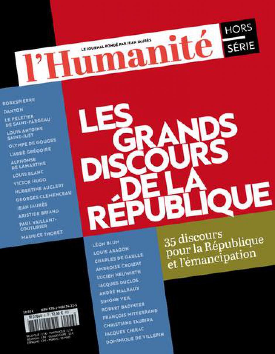 Hors-série de l'Humanité « Les grands discours de la République »