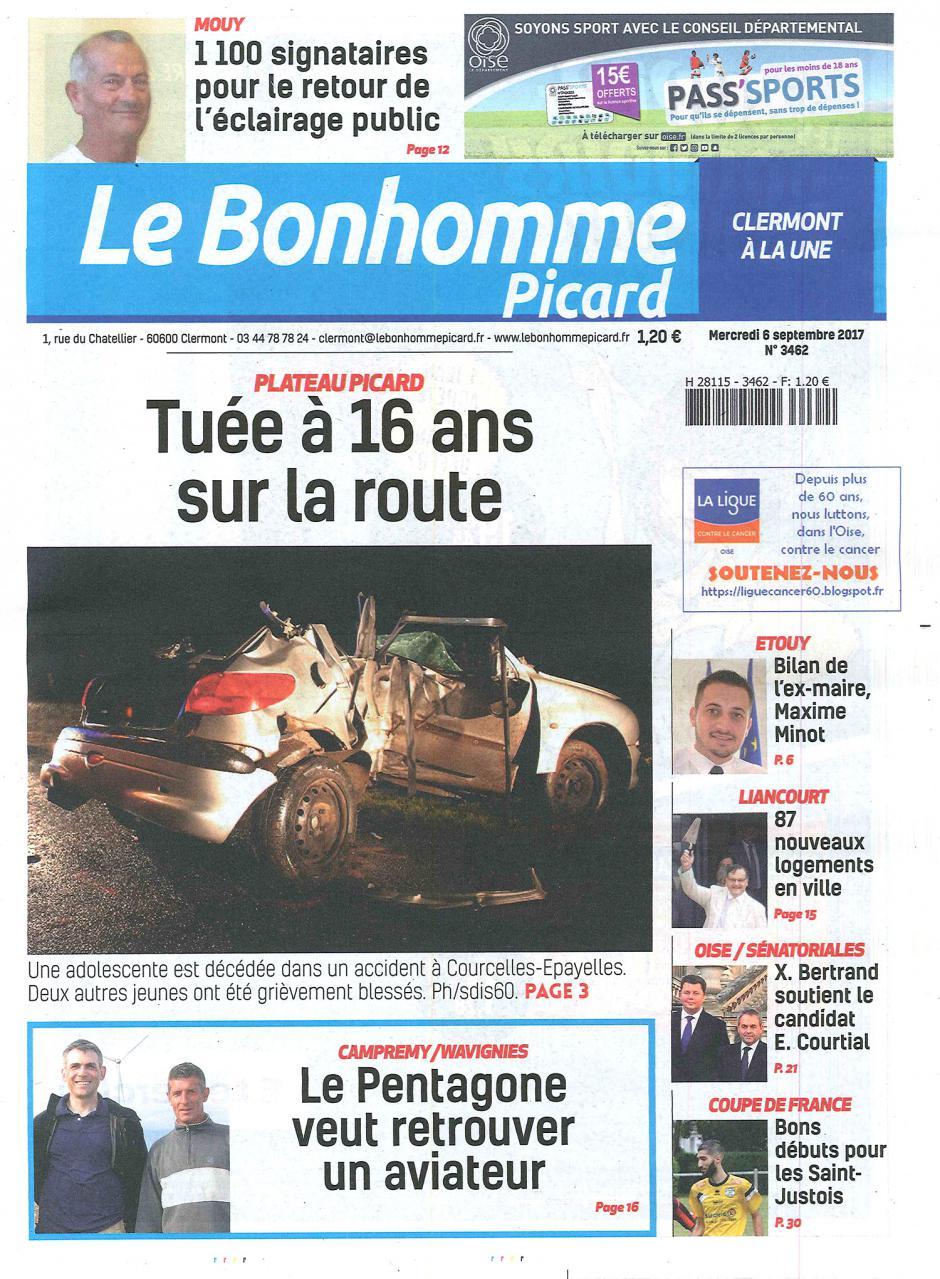 20170906-BonP-Une-[édition Clermont]